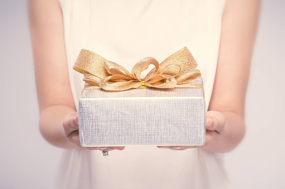 ギフト、結婚式の内祝い