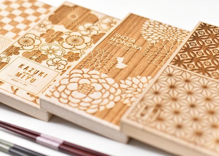 [両親&祖父母へギフト]名入れ桐箱 夫婦箸&箸置きセット