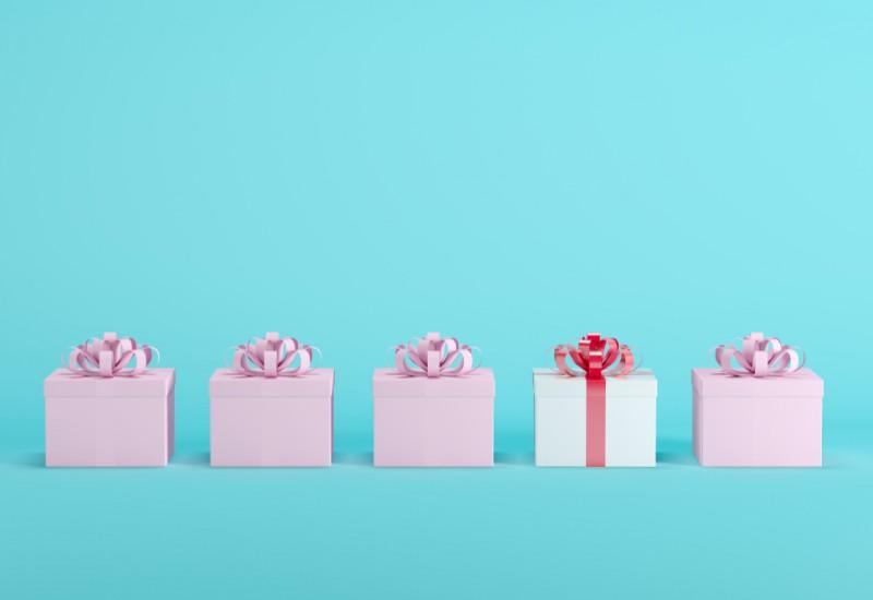 プレゼント贈呈のためのユニークなアイデア