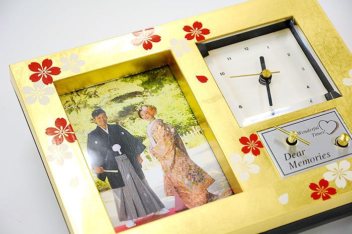 サンクスオルゴール黄金桜(こがねざくら)「さくら」(時計)