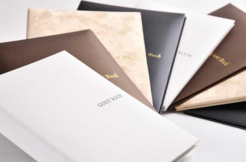4タイプから選べるゲストブック「シンプルバインダー」