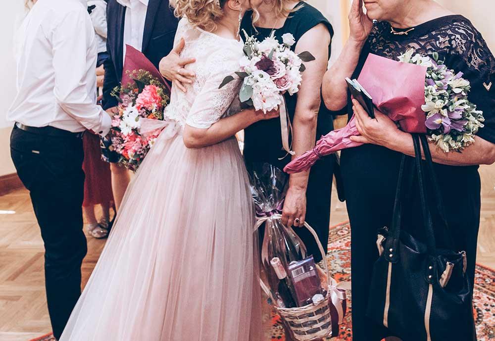 結婚式両親贈呈シーン