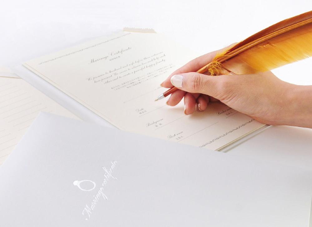 結婚証明書「リング」ファルベオリジナル