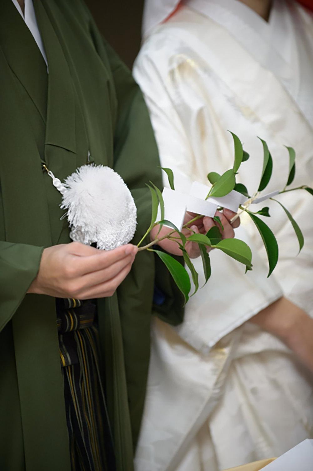 神前結婚式の正しい作法を確認