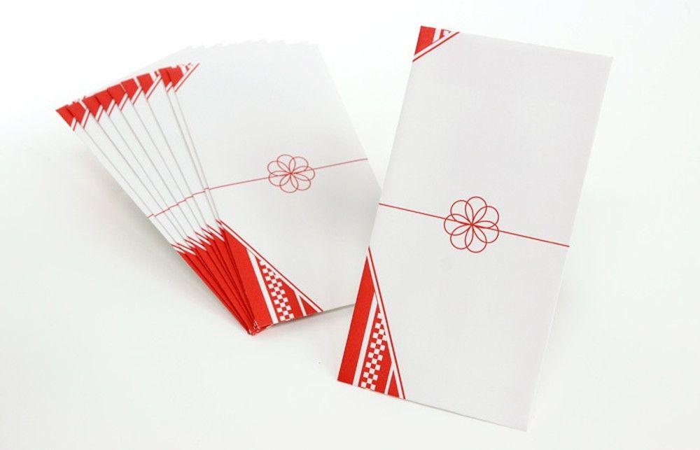華やかな和風柄封筒「華」(10枚入)心付け・御礼封筒
