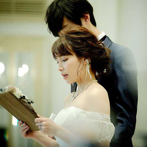 花嫁の手紙ウッドリース2