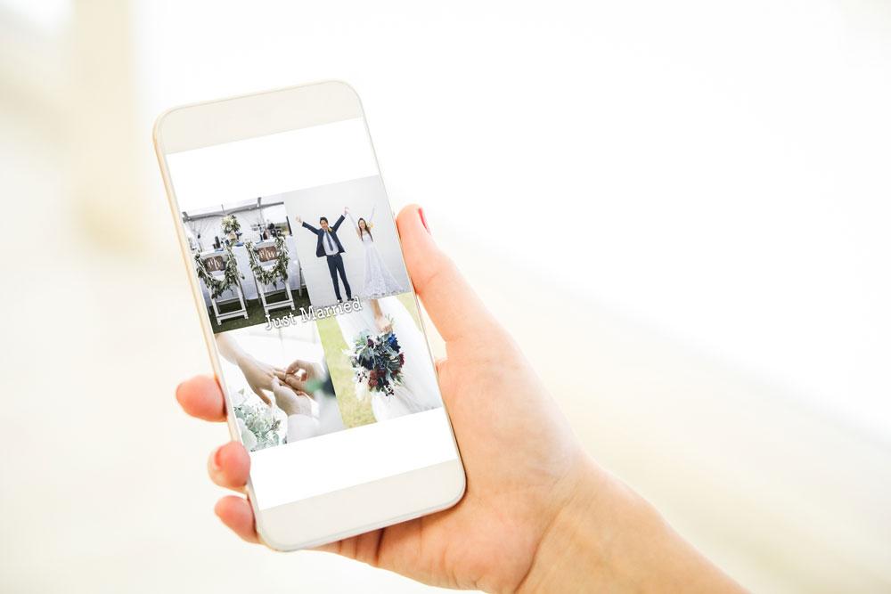 結婚報告動画