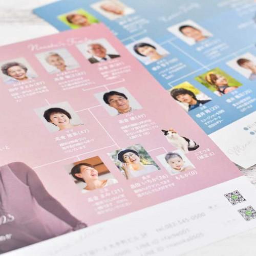 家系図プロフィールブック