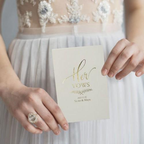 Wedding vow books誓いのノート「ホワイト」