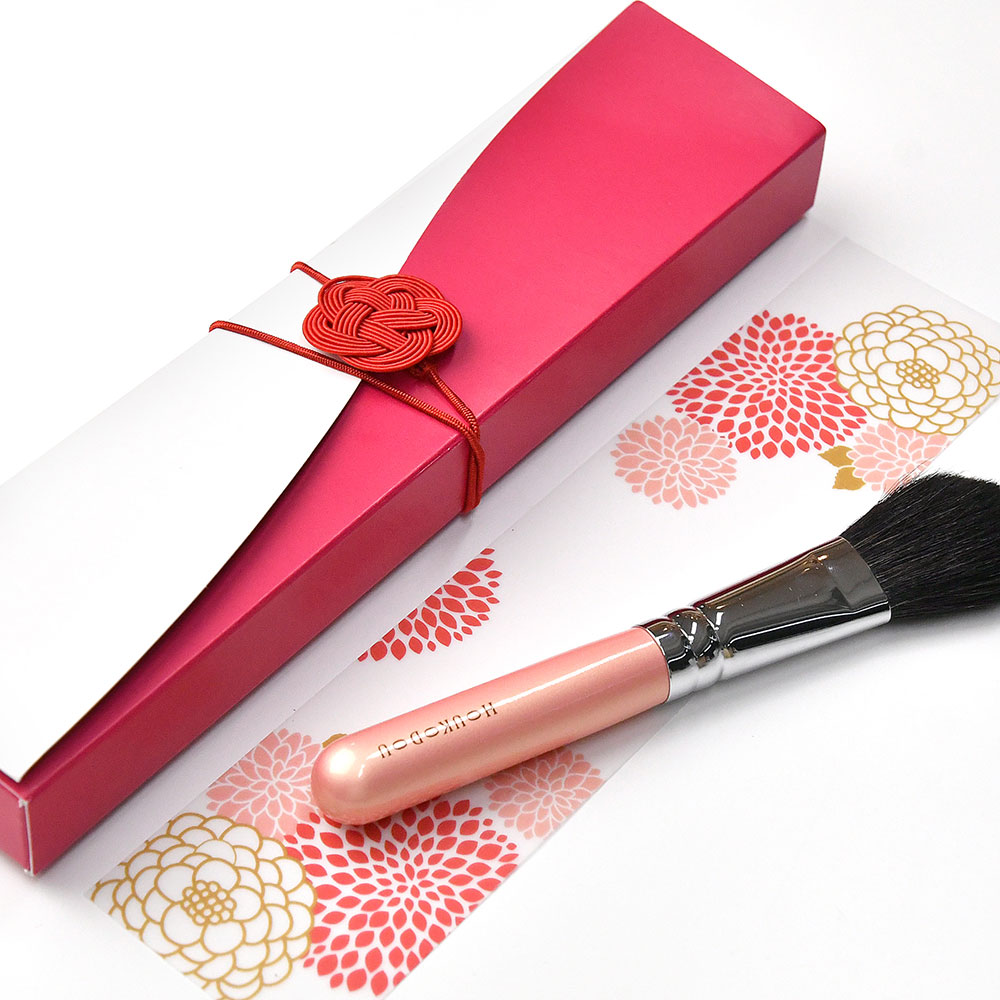 【結ギフト】顔合わせ会で贈る記念ギフト「熊野筆チークブラシ」