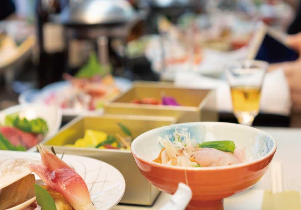 和食が並んだ宴会