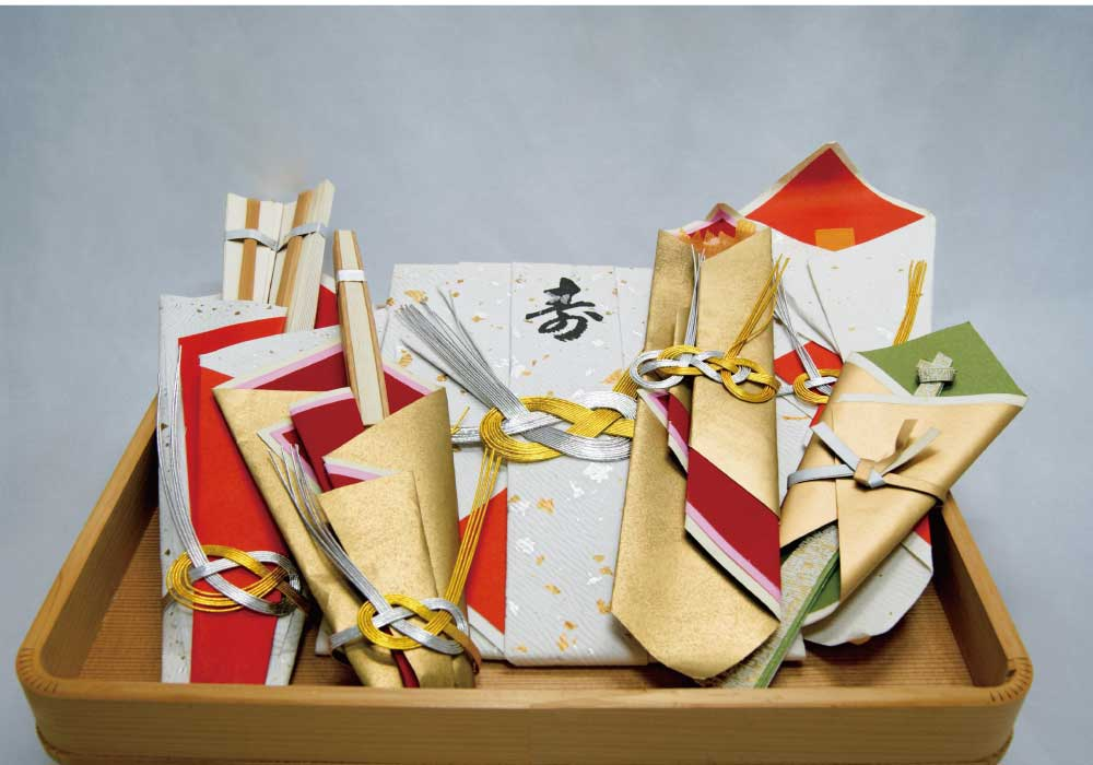 日本伝統の結納の品