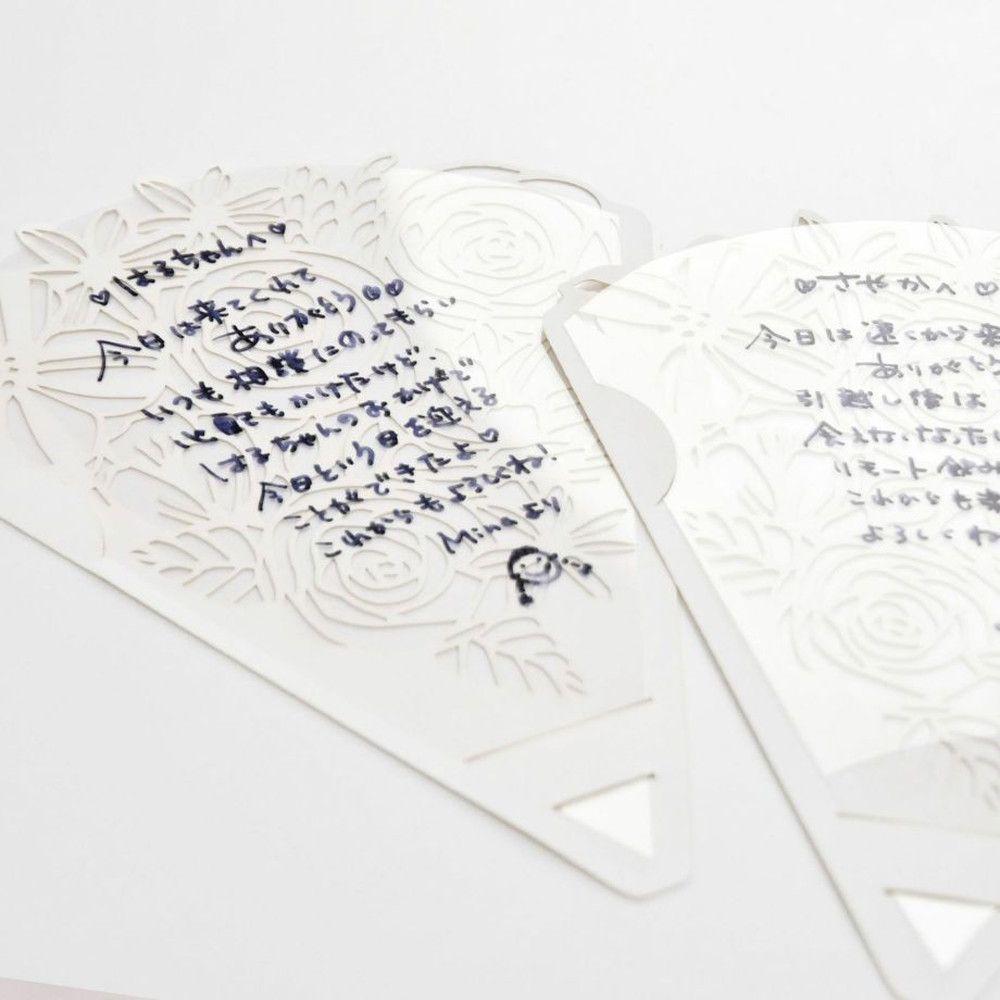 【感染防止対策アイテム】結婚式専用ウェディングシールド「花束」