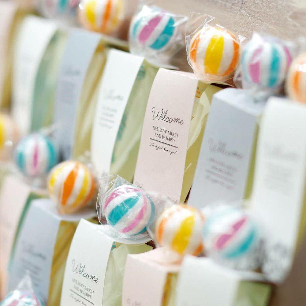 Candy tags(棒付キャンディー)1個/プチギフト