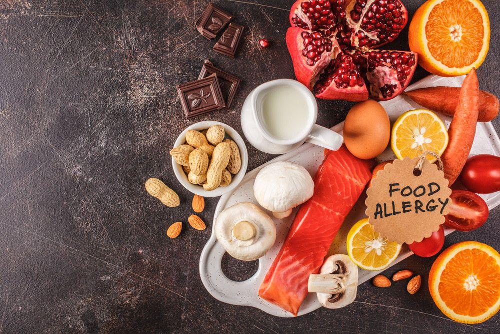 食物アレルギーの食材