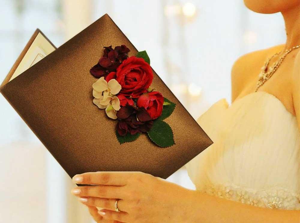 花嫁からの手紙・感謝状・フォトアルバムがセットに!ブライズセット「フリンジ」